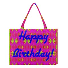 Happy Birthday! Medium Tote Bag by Amaryn4rt