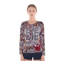 Zombie Women s Long Sleeve Tee by PattyVilleDesigns