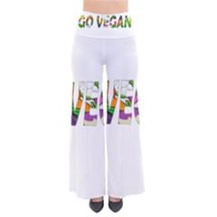 Go Vegan Pants by Valentinaart