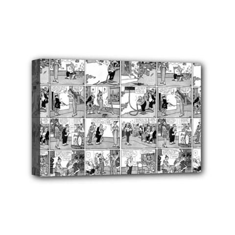Old Comic Strip Mini Canvas 6  X 4  by Valentinaart