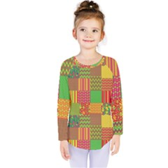Old Quilt Kids  Long Sleeve Tee