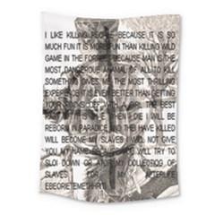 Zodiac Killer  Medium Tapestry by Valentinaart