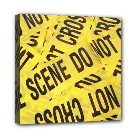 Crime Scene Mini Canvas 8  X 8  by Valentinaart