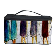 Fashion Sketch  Cosmetic Storage Case by Valentinaart