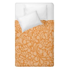 Orange Pattern Duvet Cover Double Side (single Size) by Valentinaart