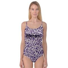 Purple Pattern Camisole Leotard  by Valentinaart