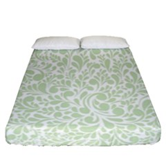 Pattern Fitted Sheet (queen Size) by Valentinaart