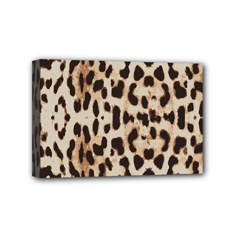 Leopard Pattern Mini Canvas 6  X 4  by Valentinaart