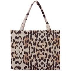 Leopard Pattern Mini Tote Bag by Valentinaart