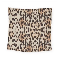 Leopard Pattern Square Tapestry (small) by Valentinaart