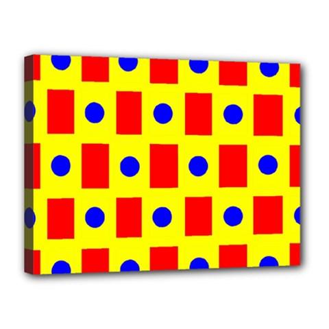 Pattern Design Backdrop Canvas 16  X 12  by Amaryn4rt