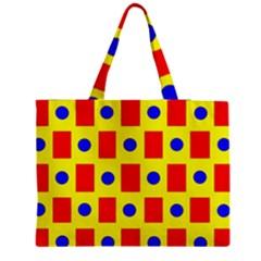Pattern Design Backdrop Medium Tote Bag by Amaryn4rt
