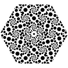 Dot Dots Round Black And White Mini Folding Umbrellas by Amaryn4rt