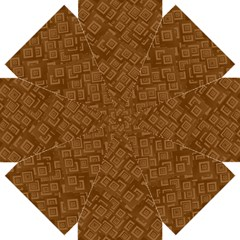 Brown Pattern Rectangle Wallpaper Straight Umbrellas by Amaryn4rt