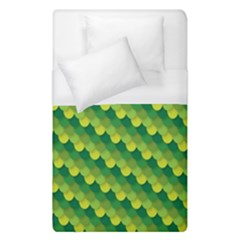 Dragon Scale Scales Pattern Duvet Cover (single Size) by Amaryn4rt