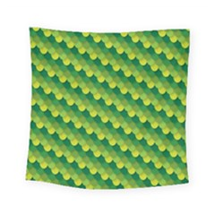 Dragon Scale Scales Pattern Square Tapestry (small) by Amaryn4rt