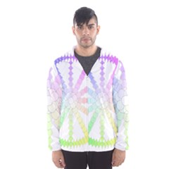 Polygon Evolution Wheel Geometry Hooded Wind Breaker (men) by Amaryn4rt