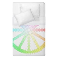 Polygon Evolution Wheel Geometry Duvet Cover (single Size) by Amaryn4rt