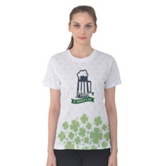 St Patricks Day, Women s Cotton Tee