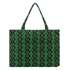 Abstract Pattern Graphic Lines Medium Tote Bag by Amaryn4rt