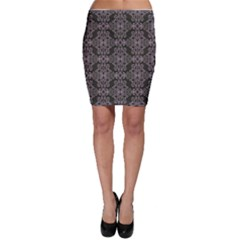 Line Geometry Pattern Geometric Bodycon Skirt