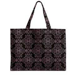 Line Geometry Pattern Geometric Zipper Mini Tote Bag by Amaryn4rt