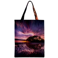 Landscape Reflection Waves Ripples Classic Tote Bag by Amaryn4rt