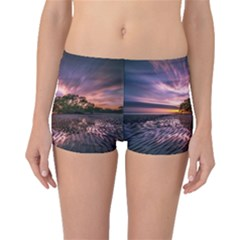 Landscape Reflection Waves Ripples Boyleg Bikini Bottoms