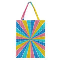 Rhythm Heaven Megamix Circle Star Rainbow Color Classic Tote Bag by Alisyart