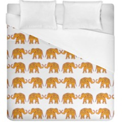 Indian Elephant  Duvet Cover (king Size) by Valentinaart