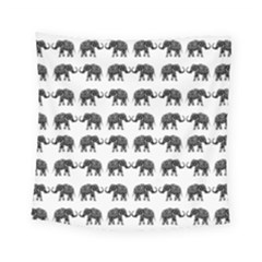 Indian Elephant Pattern Square Tapestry (small) by Valentinaart