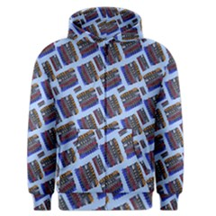 Abstract Pattern Seamless Artwork Men s Zipper Hoodie by Amaryn4rt