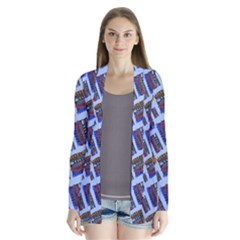 Abstract Pattern Seamless Artwork Cardigans by Amaryn4rt