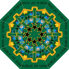 National Seal Of Ghana Straight Umbrellas by abbeyz71