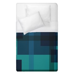 Boxes Abstractly Duvet Cover (single Size) by Amaryn4rt