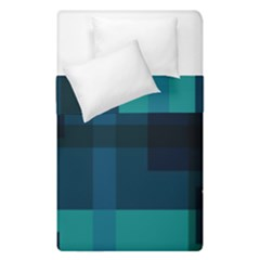 Boxes Abstractly Duvet Cover Double Side (single Size) by Amaryn4rt