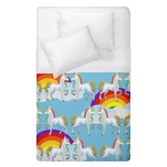 Rainbow Pony  Duvet Cover (single Size) by Valentinaart