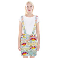 Rainbow Pony  Suspender Skirt
