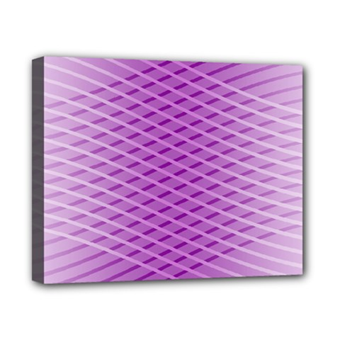 Abstract Lines Background Canvas 10  X 8  by Amaryn4rt