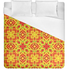 Pattern Duvet Cover (king Size) by Valentinaart