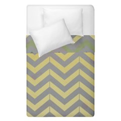Abstract Vintage Lines Duvet Cover Double Side (single Size) by Amaryn4rt