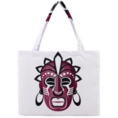 Mask Mini Tote Bag by Valentinaart