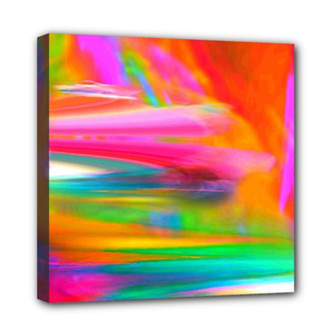 Abstract Illustration Nameless Fantasy Mini Canvas 8  X 8  by Amaryn4rt