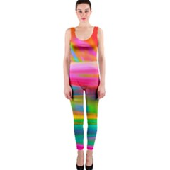 Abstract Illustration Nameless Fantasy Onepiece Catsuit