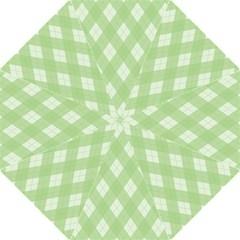 Plaid Pattern Folding Umbrellas by Valentinaart