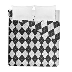 Plaid Pattern Duvet Cover Double Side (full/ Double Size) by Valentinaart