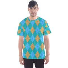 Plaid Pattern Men s Sport Mesh Tee by Valentinaart