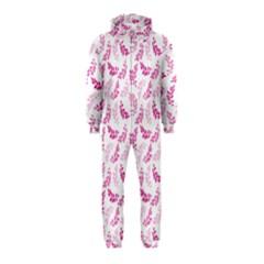 Pattern Hooded Jumpsuit (kids) by Valentinaart