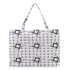 Fractal Design Pattern Medium Tote Bag by Amaryn4rt