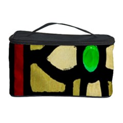 A Detail Of A Stained Glass Window Cosmetic Storage Case by Amaryn4rt